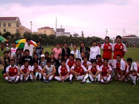 サッカー部初試合2004年R