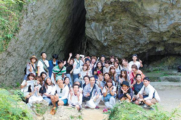 2014年10月、慰安旅行で沖縄へ。