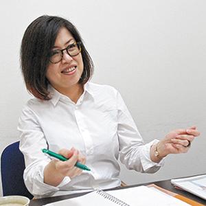 取締役 企画部部長 後藤ゆうこ氏