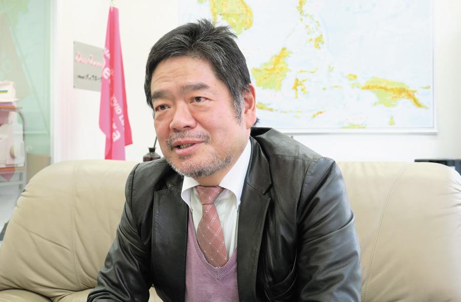 代表取締役社長 石井 康智氏