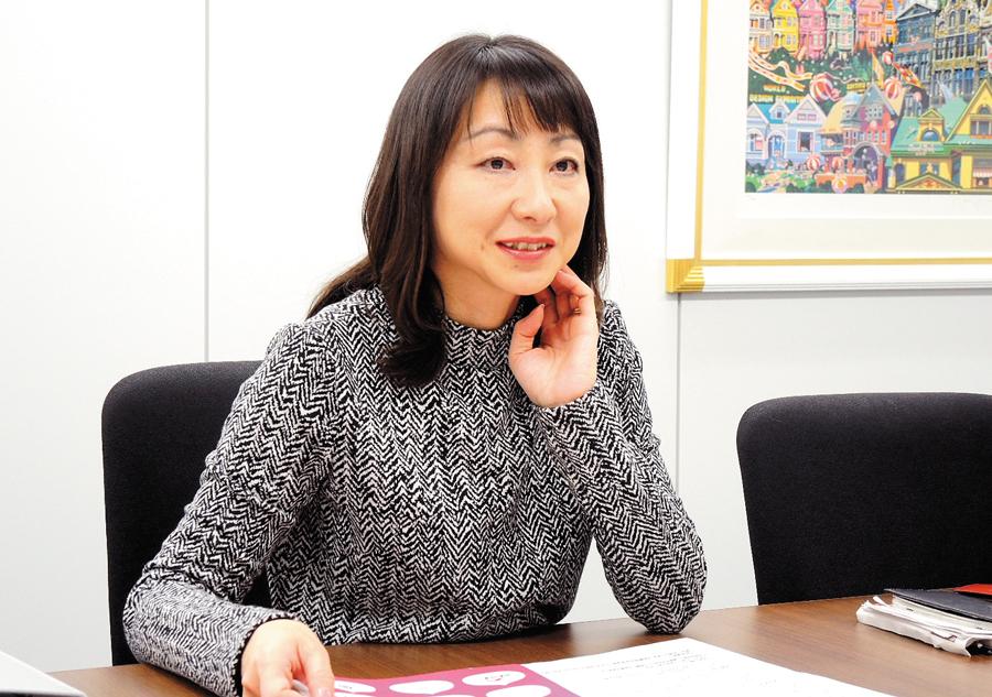 グループPR販促室統括 川勝 由美氏
