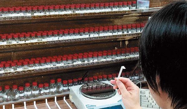 より香りを楽しめるカプセル商品も開発