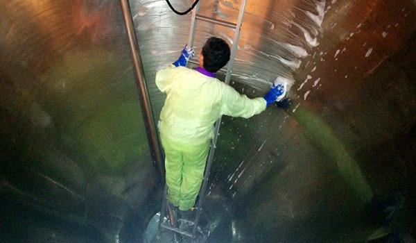 顔料製造での機械洗浄で得たノウハウをスプレードライ加工へ