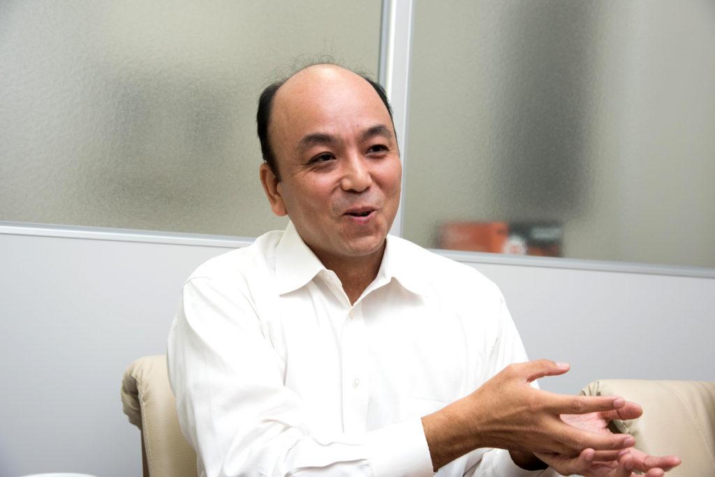 代表取締役社長 田中 淳仁氏