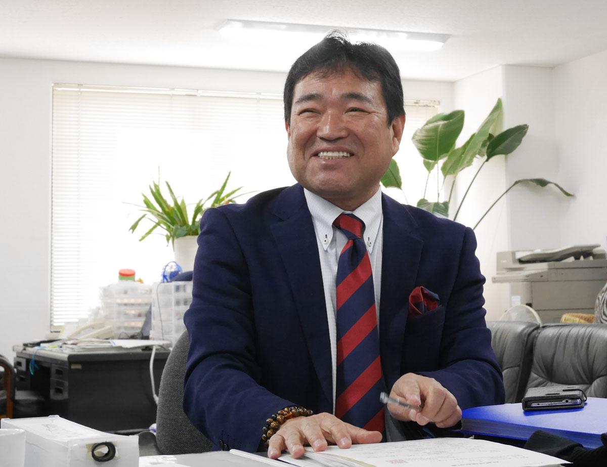 代表取締役 上埜 嘉文氏