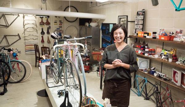 財産を受け継ぎ、自転車の楽しみを伝える