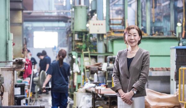女性社員の力で、町工場からの脱皮をめざす