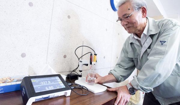 抗酸化技術に賭ける79歳シニアベンチャー