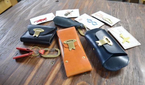 金属と革でオリジナル製品を生むファクトリーブランド