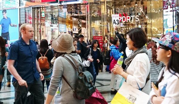 大阪にやって来た外国人に突撃インタビュー!