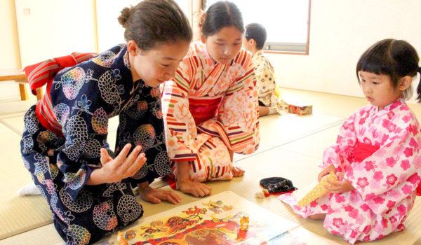 日本文化の体験を海外の子どもたちに