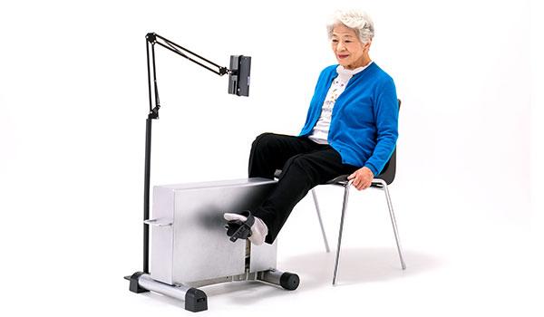 在宅リハビリできる医療機器で心不全の再入院率を抑える