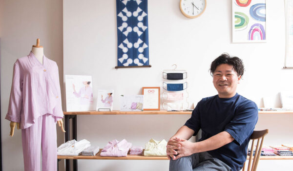 400年続く地場産業、堺和ざらしの快眠パジャマ