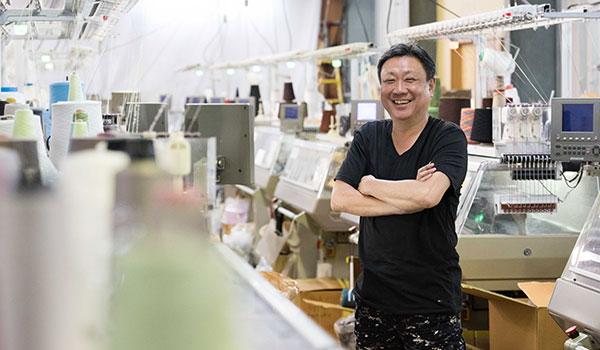 環境負荷の低い和紙糸で、繊維産業の復権をめざす
