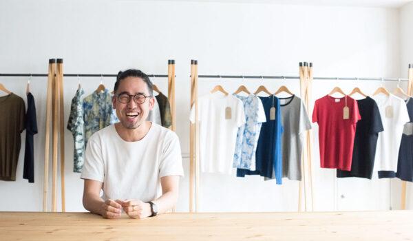人生最高のTシャツは、糸から縫製まで大阪メイド